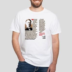 Karl Liebknecht White T-Shirt
