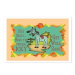 Get Well Goat Postcards (Package of 8)