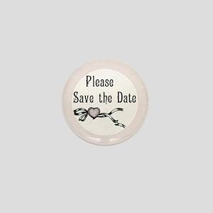 Save the Date Wedding Mini Button
