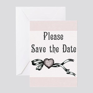 Save the Date Wedding Greeting Card