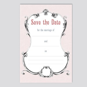 Save the Date Wedding Postcards (Package of 8)