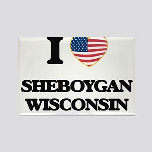 I love Sheboygan Wisconsin Magnets