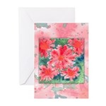 Watercolor Flowers Greeting Cards (Pk of 20)