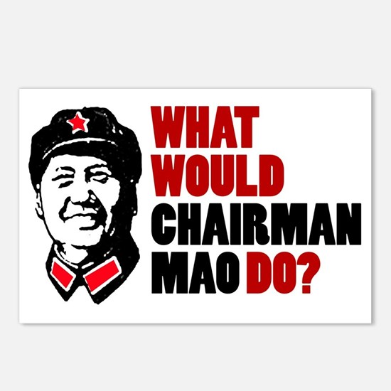 Chairman Mao Postcards (Package of 8)