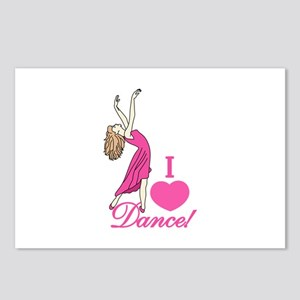 I Love Dance Postcards (Package of 8)