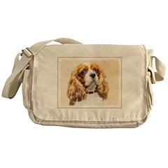 Cavalier King Charles Spaniel Messenger Bag