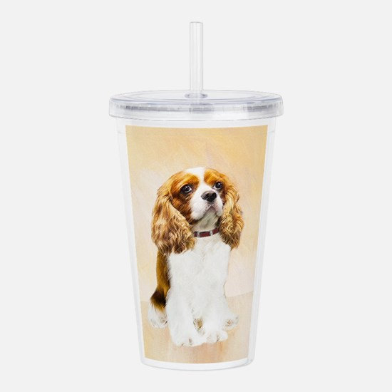 Cavalier King Charles Acrylic Double-wall Tumbler