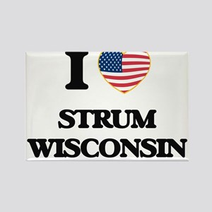 I love Strum Wisconsin Magnets