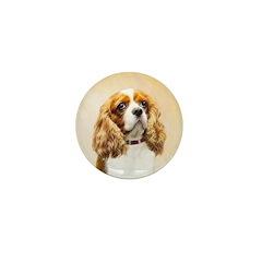 Cavalier King Charles Spani Mini Button (100 pack)