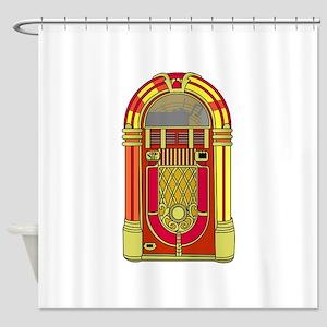 Jukebox Shower Curtain