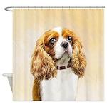 Cavalier King Charles Spaniel Shower Curtain