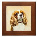 Cavalier King Charles Spaniel Framed Tile