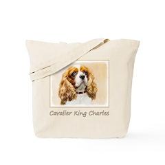 Cavalier King Charles Spaniel Tote Bag