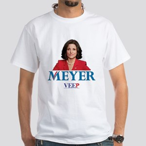 Veep Meyer White T-Shirt