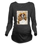 Cavalier King Charle Long Sleeve Maternity T-Shirt