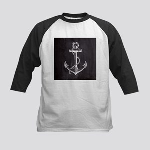 modern nautical anchor Baseball Jersey