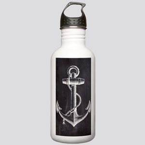 modern nautical anchor Stainless Water Bottle 1.0L