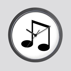 Beamed 8th Note Wall Clock