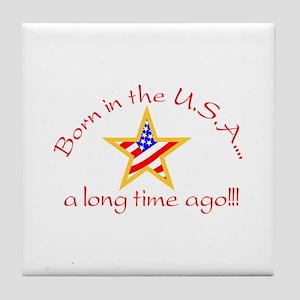 Born in USA Tile Coaster