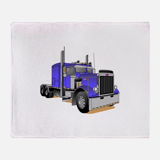 Truck 2 Throw Blanket