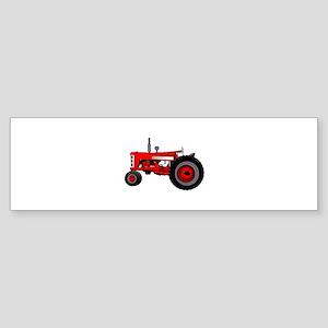 Classic Tractor Bumper Sticker
