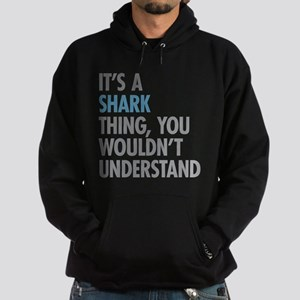 Shark Thing Hoodie (dark)