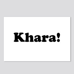 Khara! Postcards (Package of 8)
