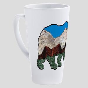BEAR HEIGHTS 17 oz Latte Mug