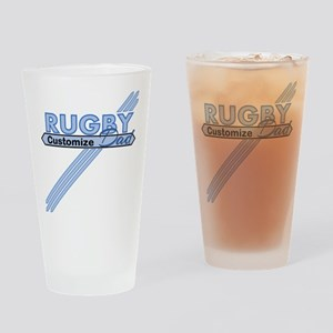 Rugby Dad Drinking Glass
