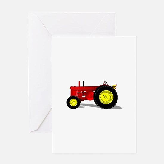 Classic Tractor 2 Greeting Cards