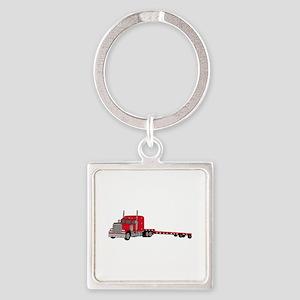 Flatbed Truck Keychains