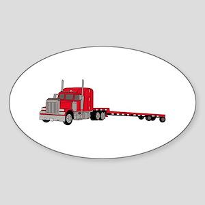 Flatbed Truck Sticker