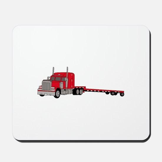 Flatbed Truck Mousepad