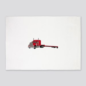 Flatbed Truck 5'x7'Area Rug