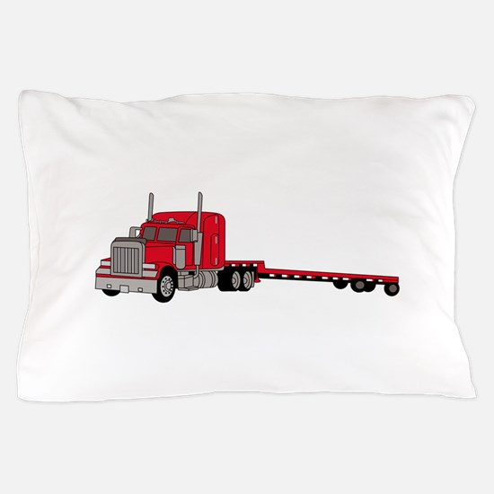 Flatbed Truck Pillow Case