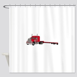 Flatbed Truck Shower Curtain