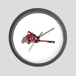 Flatbed Truck Wall Clock
