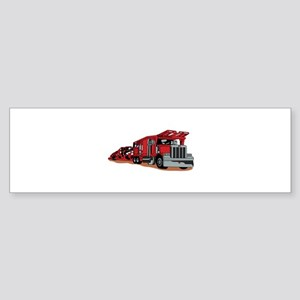 Car Hauler Bumper Sticker