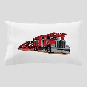 Car Hauler Pillow Case