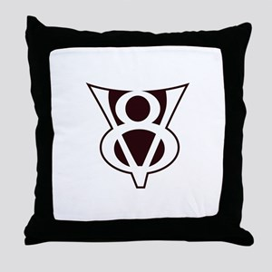 V8 Symbol Throw Pillow
