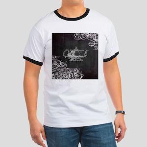 chalkboard tea pot swirls T-Shirt