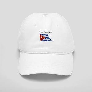 Cuba Flag (Distressed) Baseball Cap
