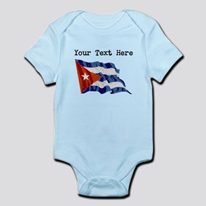 Cuba Flag (Distressed) Body Suit