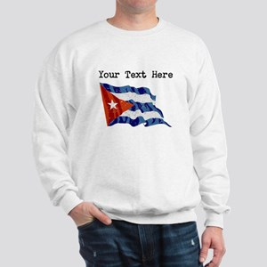 Cuba Flag (Distressed) Sweatshirt