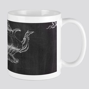 chalkboard tea pot swirls Mugs