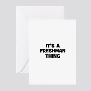 It's a freshman Thing Greeting Cards (Pk of 10)