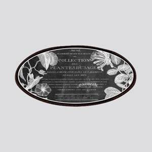 vintage chic botanical leaves Patch