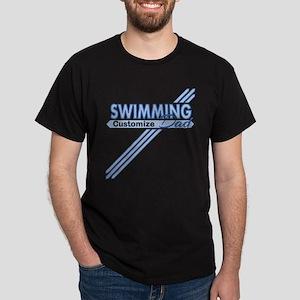 Swim Dad Dark T-Shirt