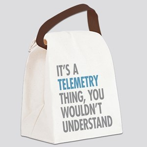 Telemetry Thing Canvas Lunch Bag