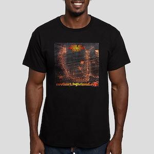 Rock Art Preservation Men's Fitted T-Shirt (dark)